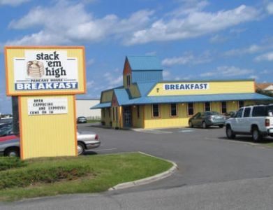 Exterior of Stack'em High